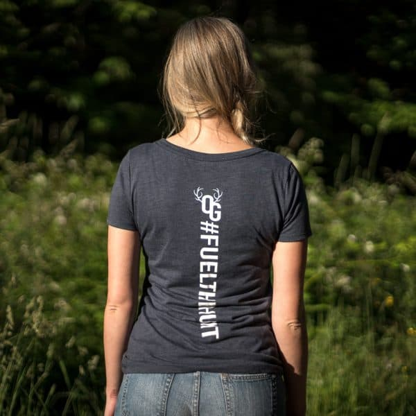 womens slate tshirt back