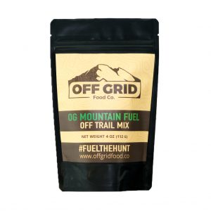 off grid food trail mix