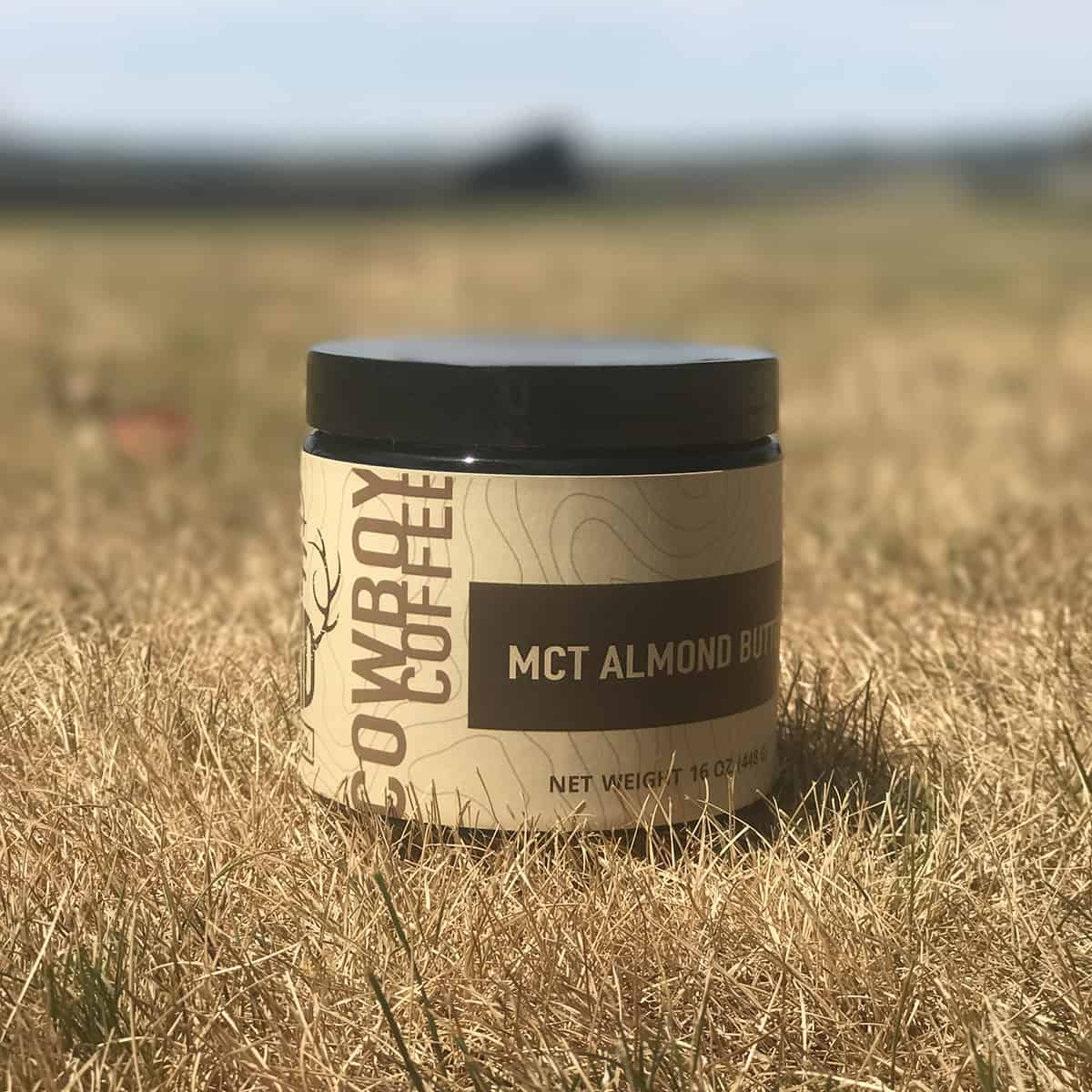mct almond butter cowboy coffee