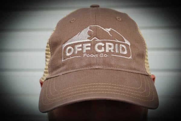 off grid tan hat