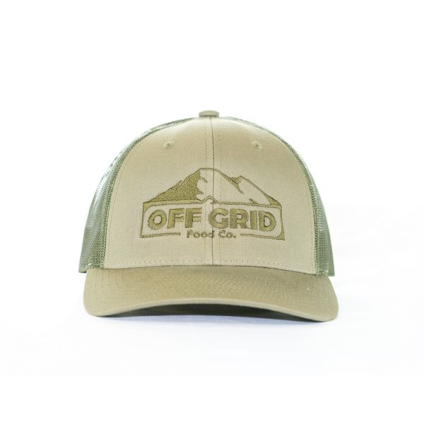 off grid green hat